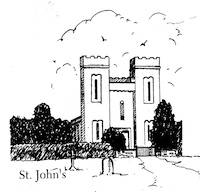 St John's Line Drawing