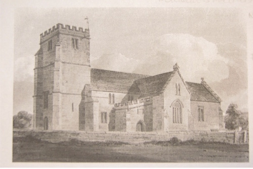 St Andrews Church in 1804